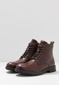 Pepe Jeans - PORTER BOOT BASIC - Snørestøvletter - burgundy - 2