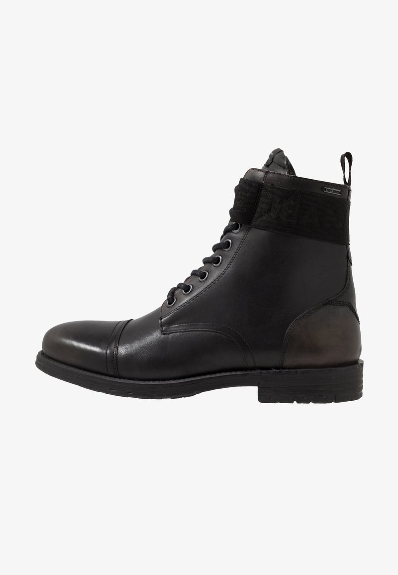 Pepe Jeans - TOM CUT BOOT - Botines con cordones - factory black