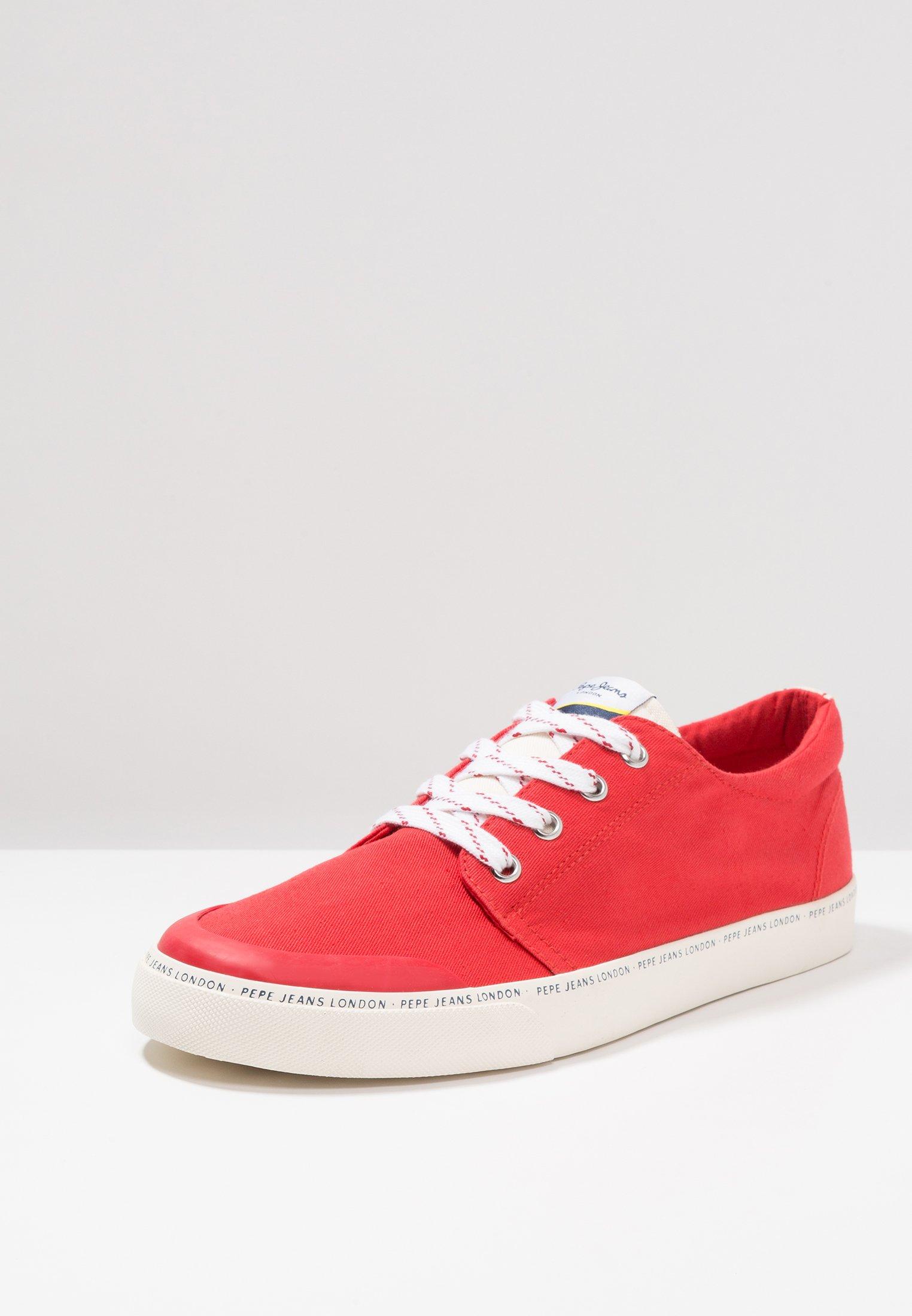 Pepe Jeans Traveller Basic Man - Baskets Basses Red