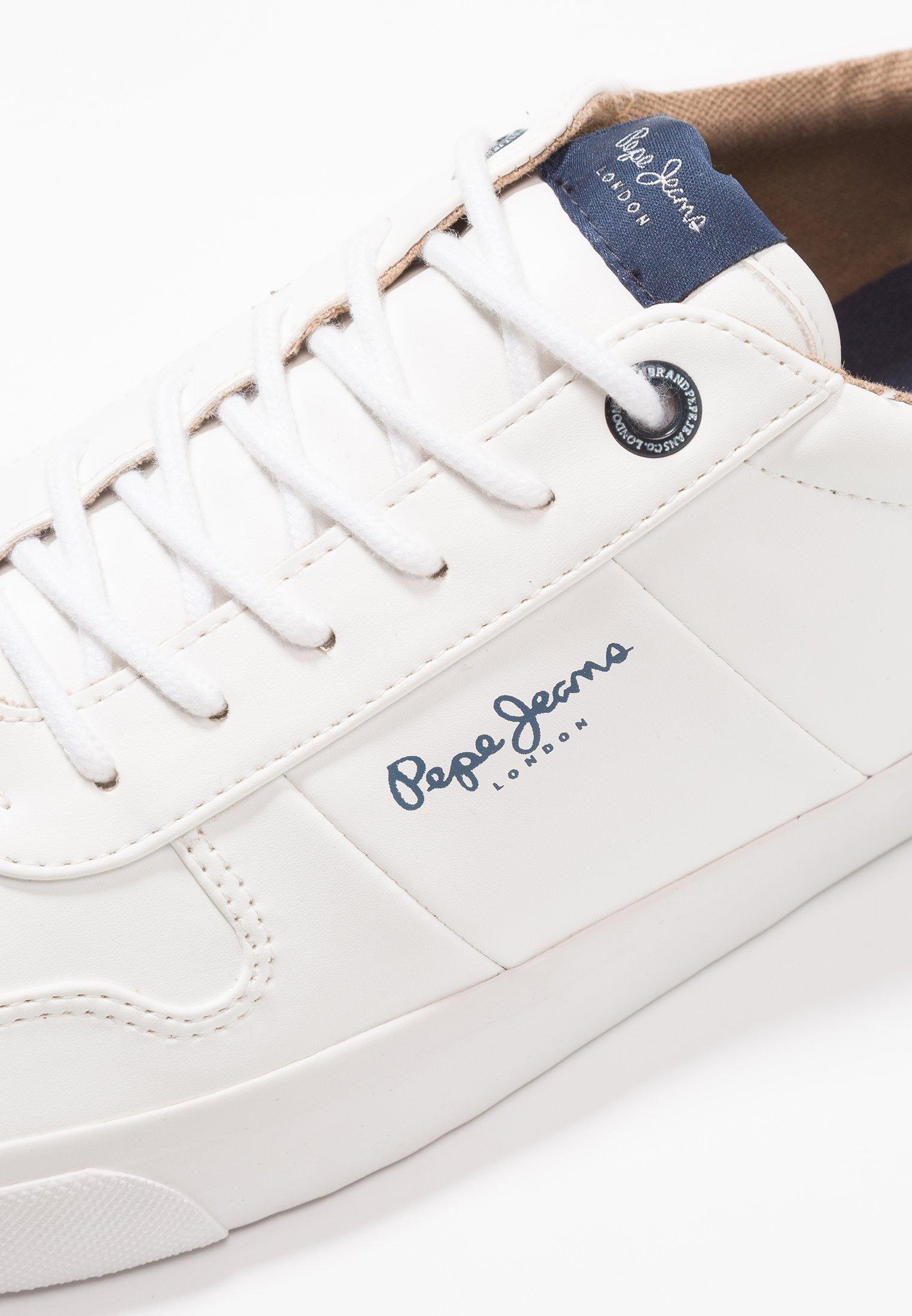 Pepe Jeans TRAVELLER Joggesko white Zalando.no