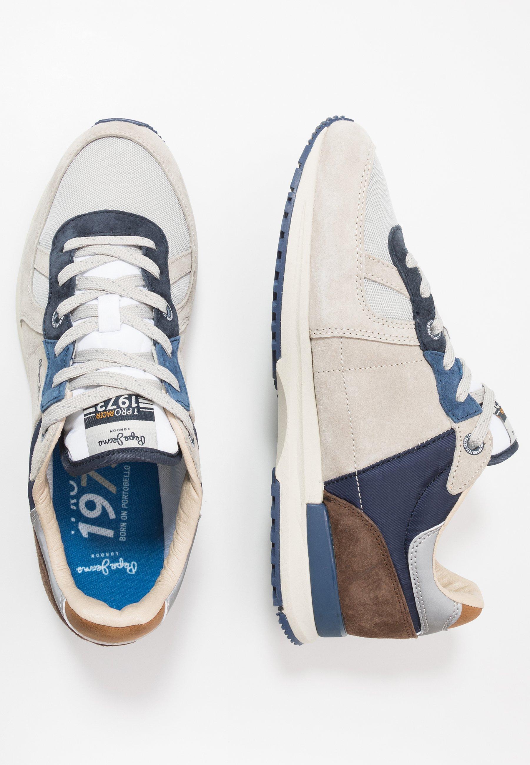 Pepe Jeans TINKER PRO SUMMERLAND - Sneakersy niskie - grey