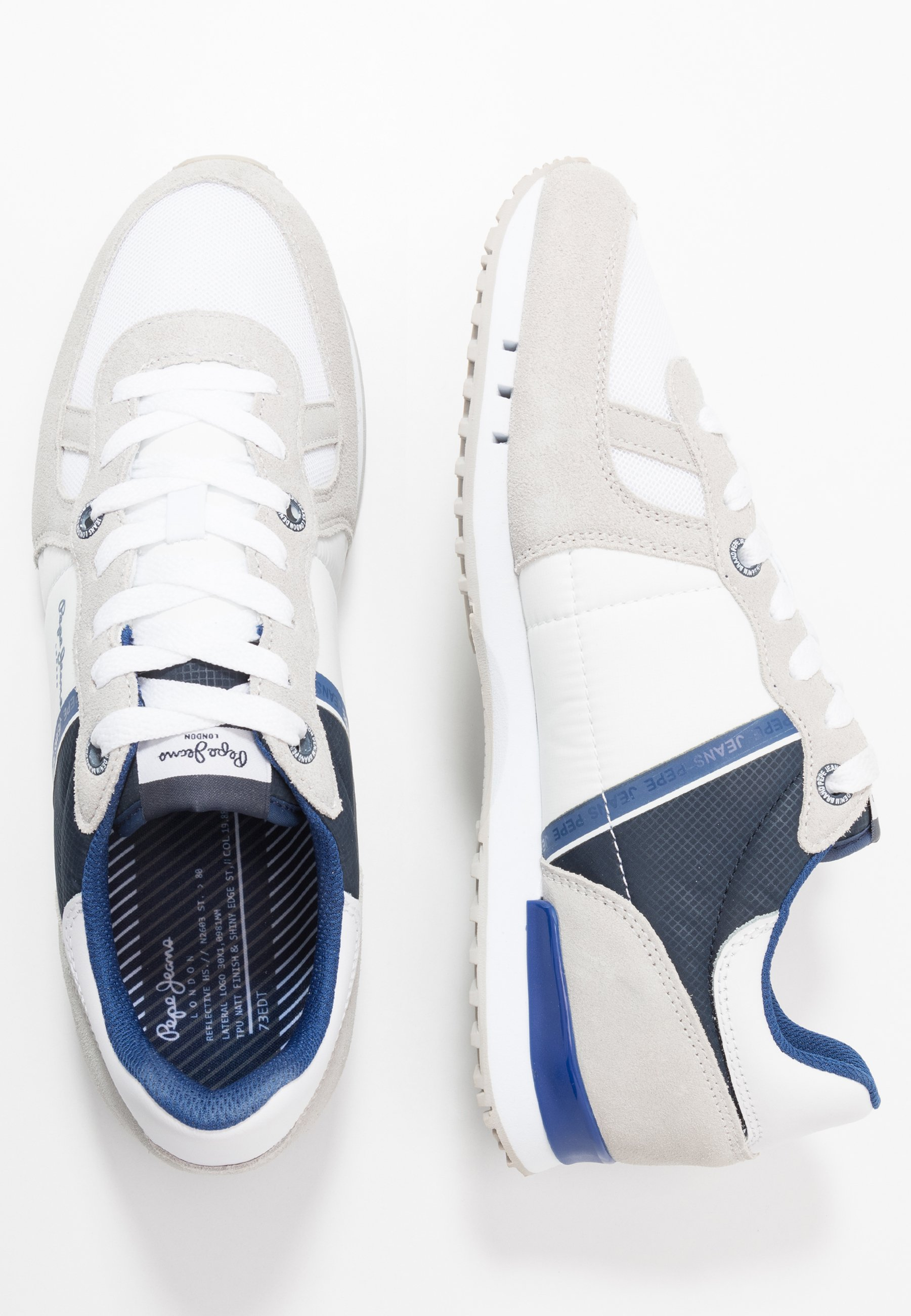 Pepe Jeans TINKER - Baskets basses - white