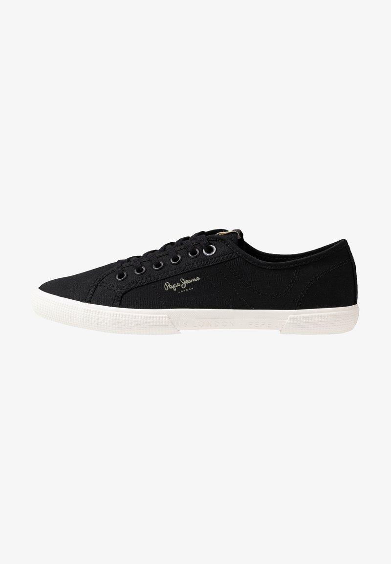 Pepe Jeans - ABERMAN SMART - Sneakersy niskie - black