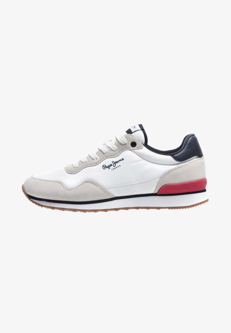 Pepe Jeans - CROSS 4 BASIC - Zapatillas - white