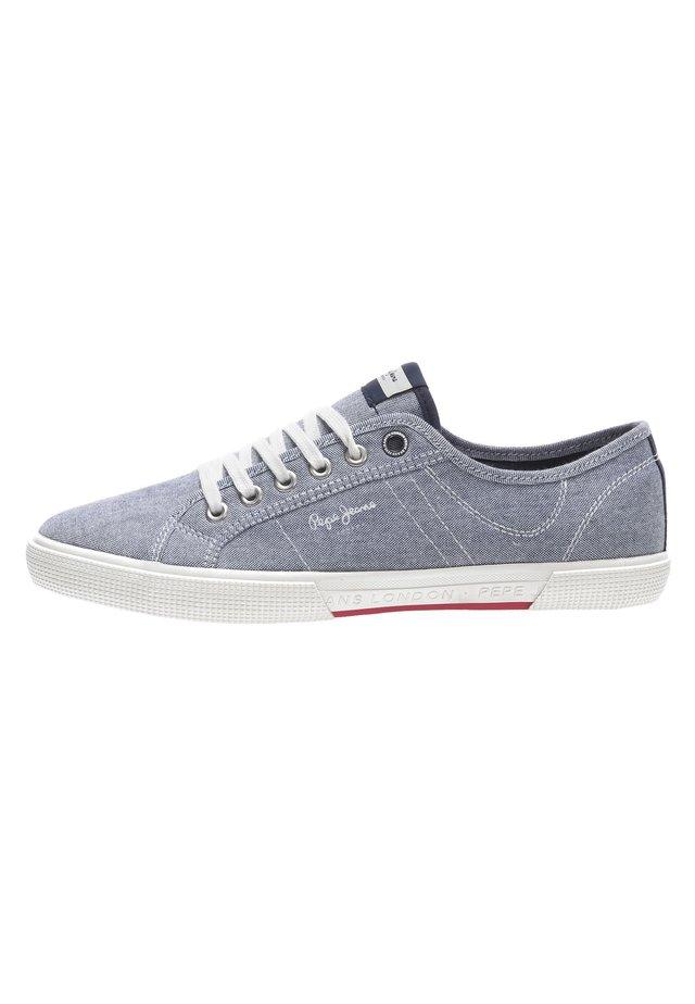 ABERMAN SMART CHAMBRAY - Sneakersy niskie - chambray