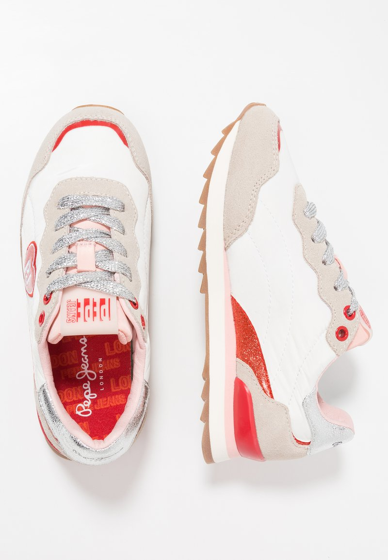 Pepe Jeans - BELLE HEARTH - Trainers - white