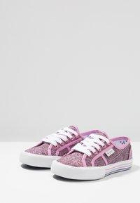 Pepe Jeans - BAKER GLITTER - Sneaker low - fuchsia - 3