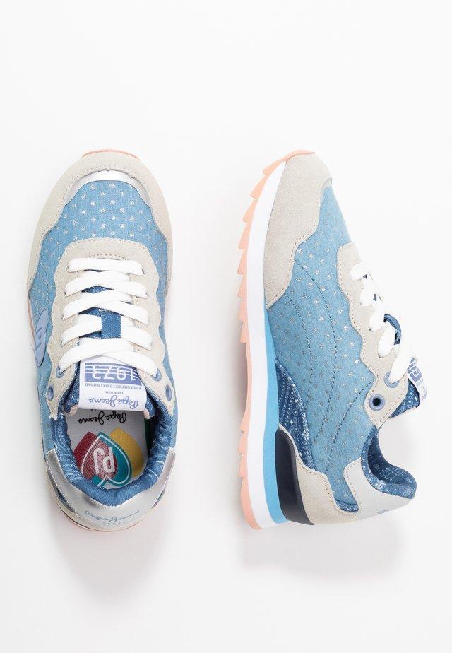 BELLE - Sneakers laag - denim