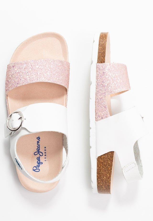 BUCKLE - Sandalias - white