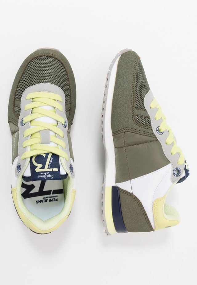 SYDNEY BASIC BOY - Sneakers laag - khaki green