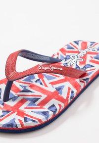 Pepe Jeans - DORSET BEACH UNI - Zehentrenner - red - 2