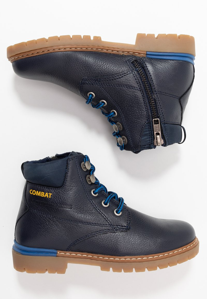 Pepe Jeans - COMBAT - Lace-up ankle boots - navy