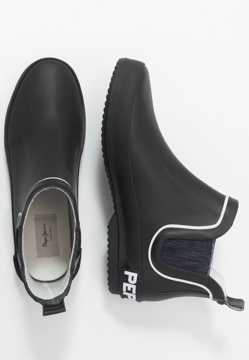 Pepe Jeans - BRENT CHELSEA JUNIOR - Wellies - black