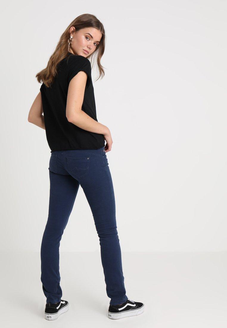 Pepe Jeans - KATHA MID SLIM - Stoffhose - ocean