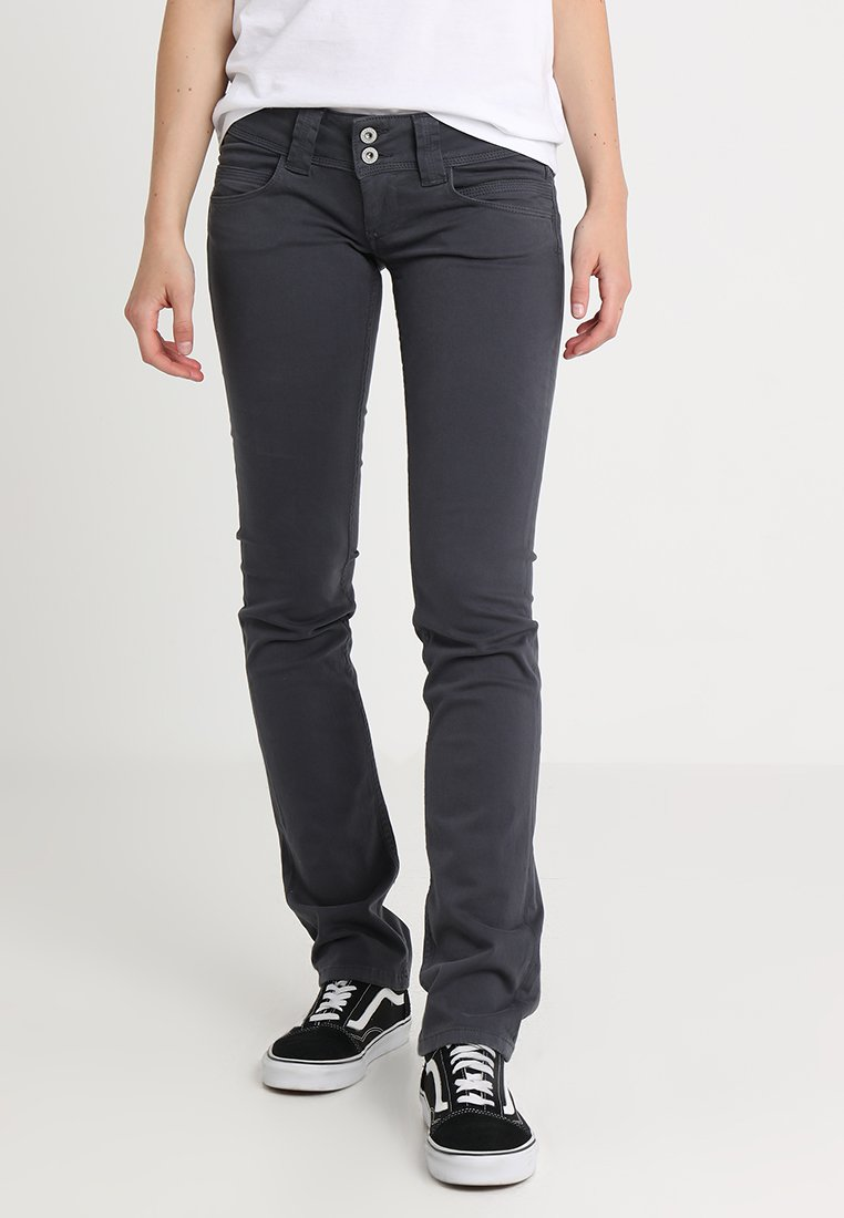 Pepe Jeans - VENUS - Tygbyxor - deep grey