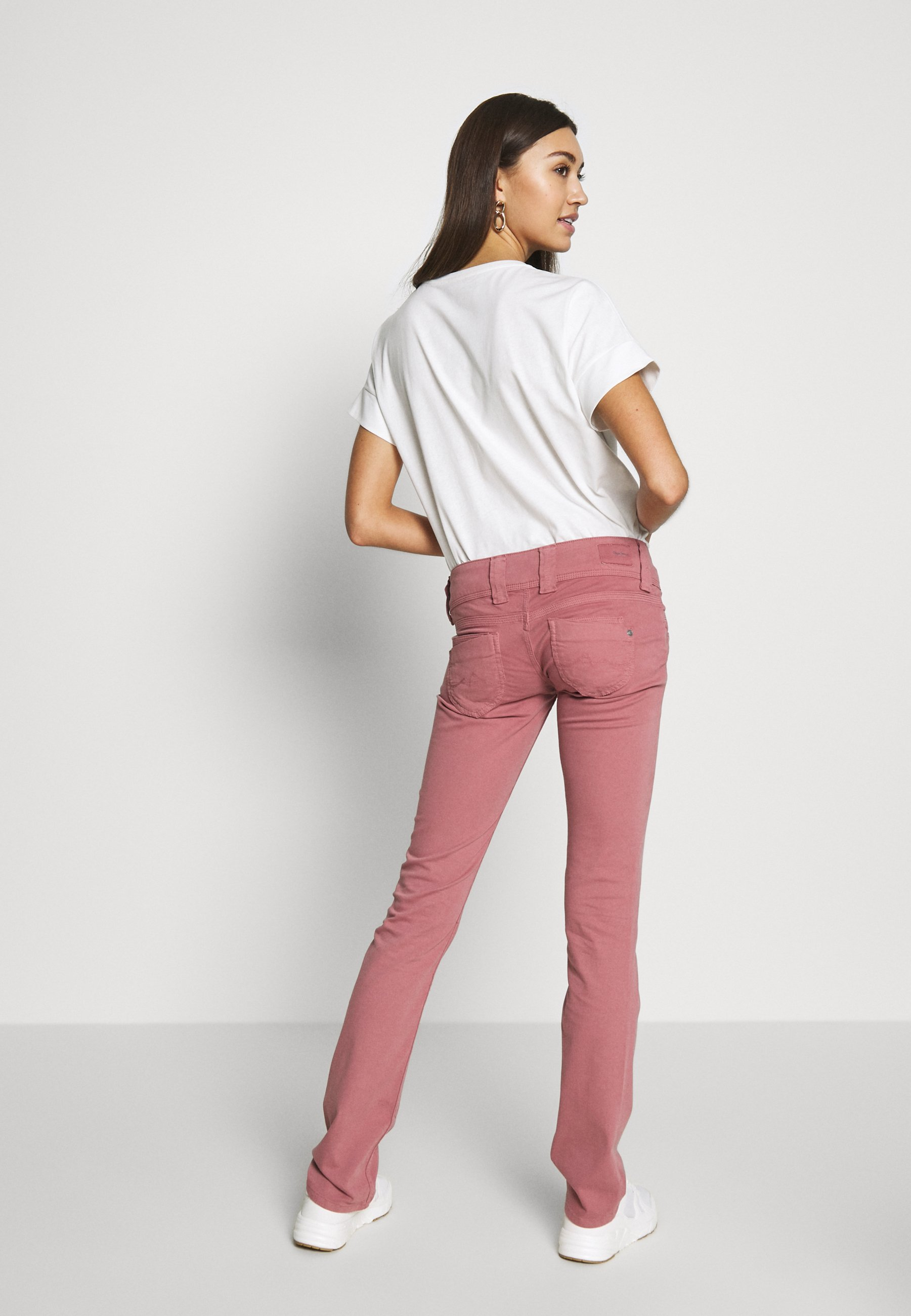 Pepe Jeans VENUS - Spodnie materiałowe - washed pink