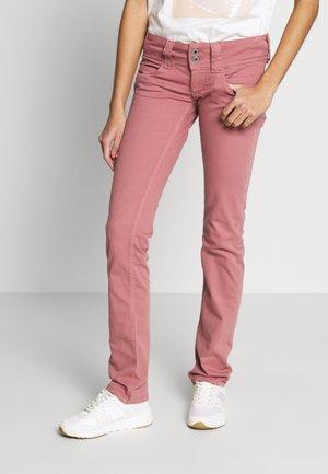 VENUS - Spodnie materiałowe - washed pink