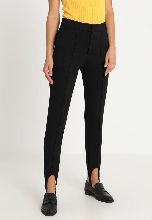 POLA - Trousers - black
