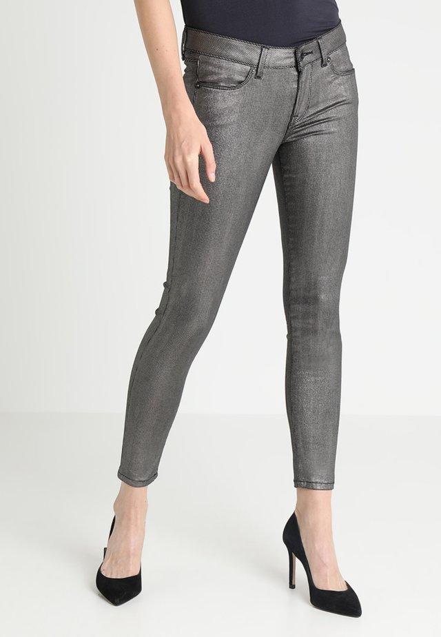 LOLA LUX - Spodnie materiałowe - chrome