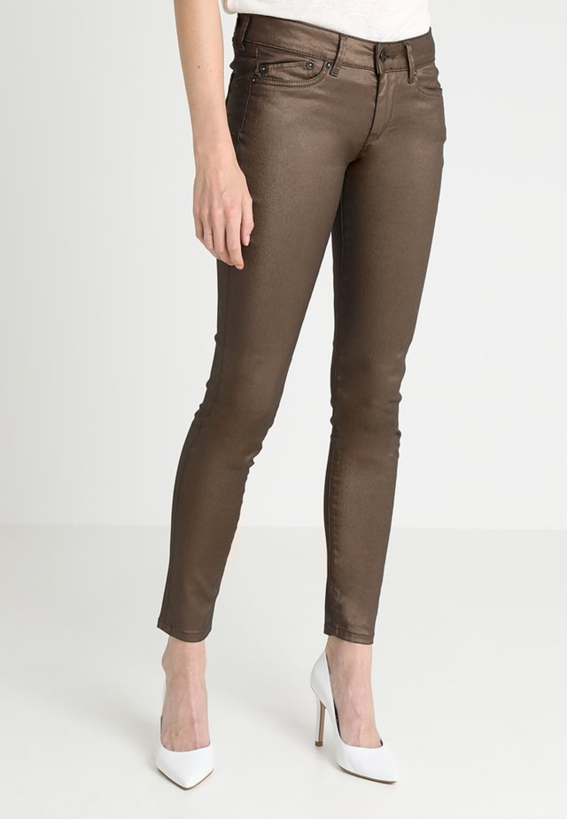 PIXIE ROCK - Jeansy Skinny Fit - gold