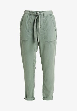 Trousers - 768dk olive