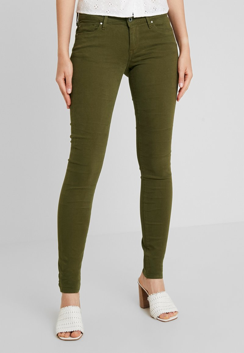 Pepe Jeans - SOHO - Skinny džíny - dark khaki