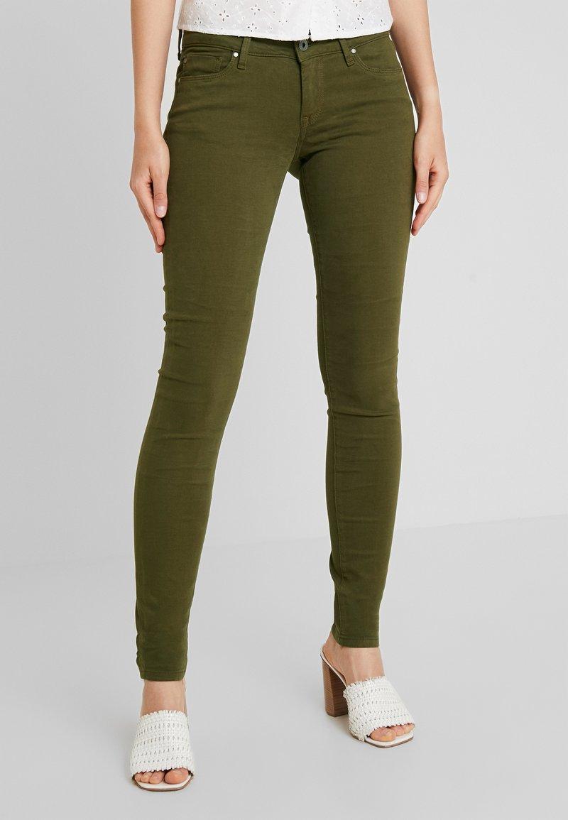 Pepe Jeans - SOHO - Tygbyxor - dark khaki