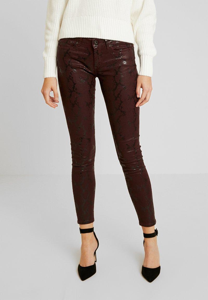 Pepe Jeans - PIXIE VIPER - Broek - burgundy