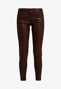 Pepe Jeans - PIXIE VIPER - Broek - burgundy - 4