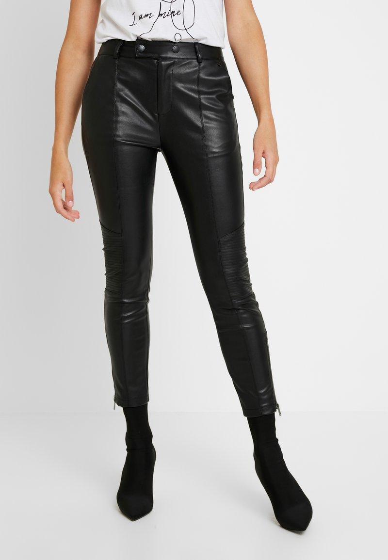 Pepe Jeans - SELMA - Tygbyxor - black