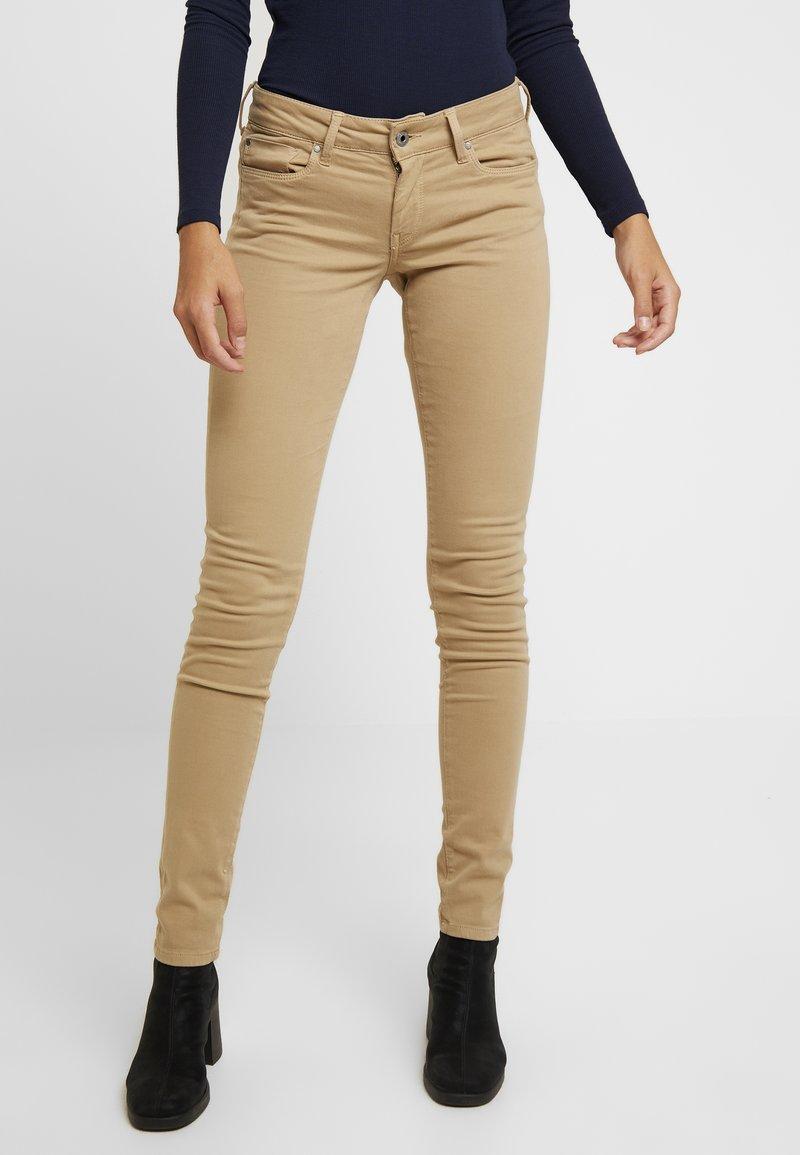 Pepe Jeans - SOHO - Tygbyxor - camel u91