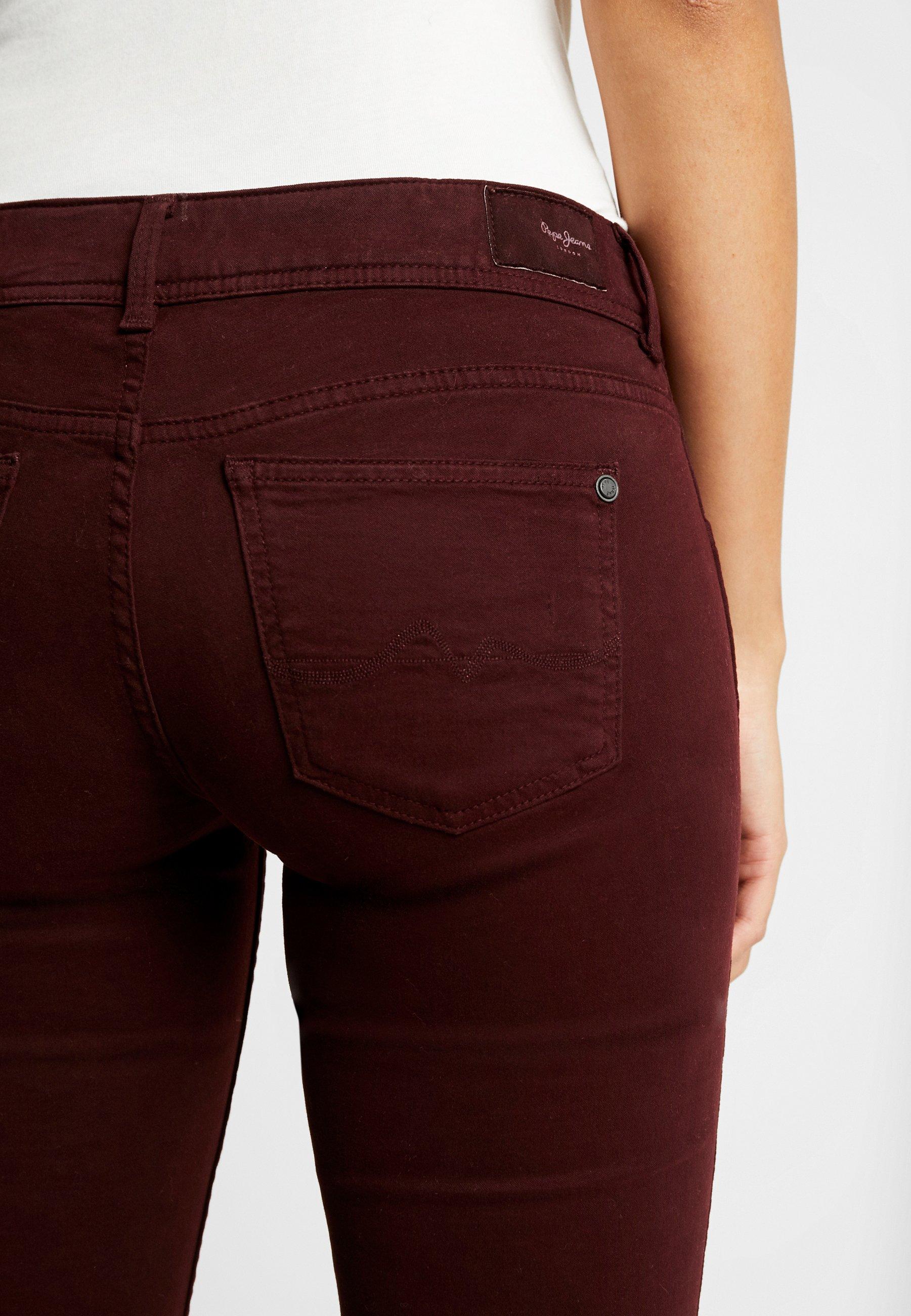 Pepe Jeans New Pimlico - Pantalon Classique Bordeaux