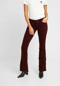 Pepe Jeans - NEW PIMLICO - Broek - bordeaux - 0