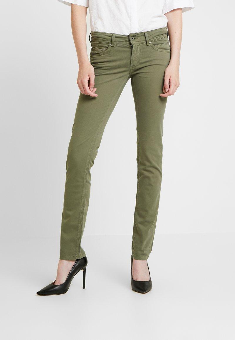 Pepe Jeans - NEW BROOKE - Jeans Skinny Fit - khaki