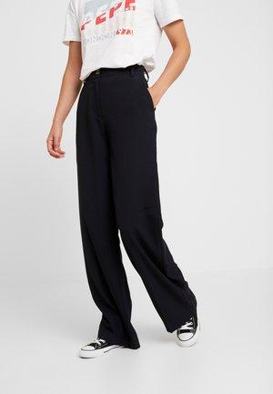 LULA - Spodnie materiałowe - dark blue