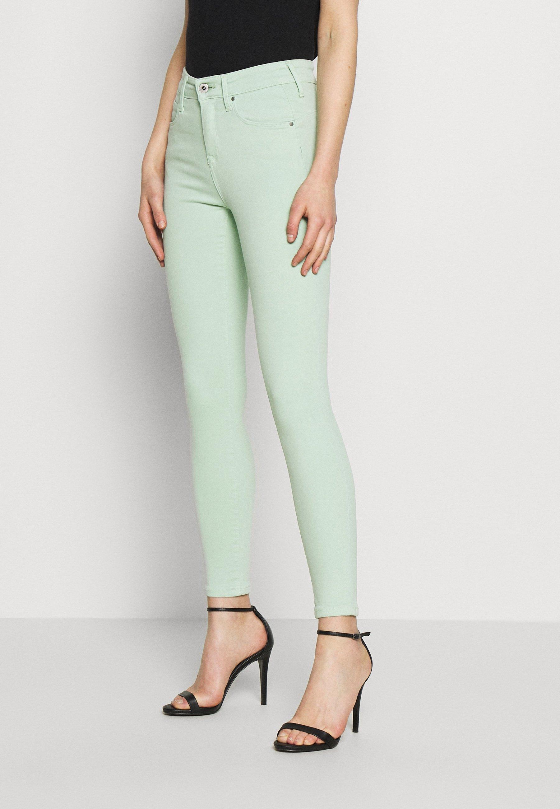 Pepe Jeans ZOE - Spodnie materiałowe - menthol
