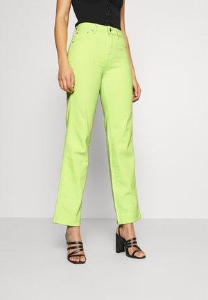 DUA LIPA X PEPE JEANS  - Jeans straight leg - lima