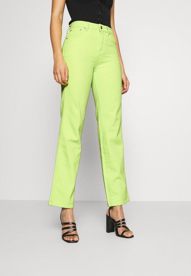 DUA LIPA X PEPE JEANS  - Straight leg jeans - lima