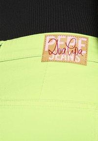 Pepe Jeans - DUA LIPA X PEPE JEANS  - Džíny Straight Fit - lima - 4