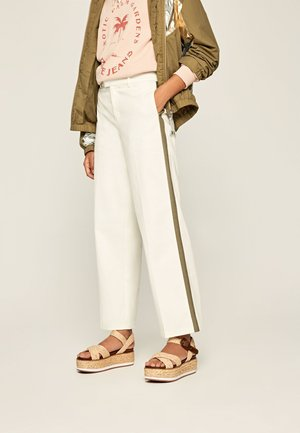 ZAIDA - Trousers - off-white