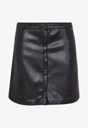 ANGELINA - Áčková sukně - black