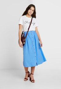 Pepe Jeans - ELAINE - A-line skirt - french blue - 1