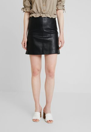HENAR - A-line skirt - black
