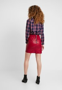 Pepe Jeans - CARRY - A-line skirt - garnet - 2