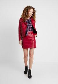 Pepe Jeans - CARRY - A-line skirt - garnet - 1