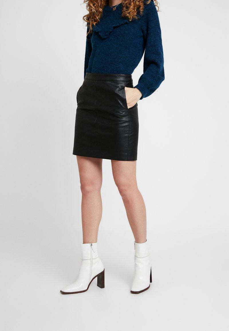 Pepe Jeans - CARRY - A-lijn rok - black