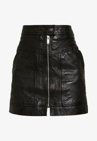 Pepe Jeans - GINA - Áčková sukně - black - 3