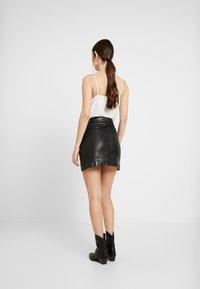 Pepe Jeans - GINA - Áčková sukně - black - 2