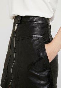 Pepe Jeans - GINA - Áčková sukně - black - 4