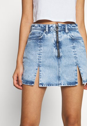 DUA LIPA x PEPE JEANS - Denim skirt - denim